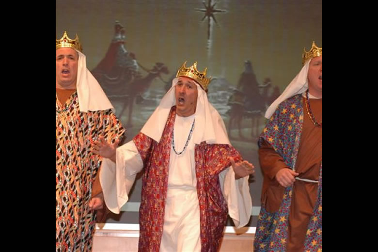 One of the {Three Wise Men} 2006 Christmas Concert, Church of the Ascension choir, Virginia Beach, VA
