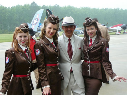Va Beach WWII Warbirds over the Beach Air Show 19/20 May w/the Victory Belles (from New Orleans)