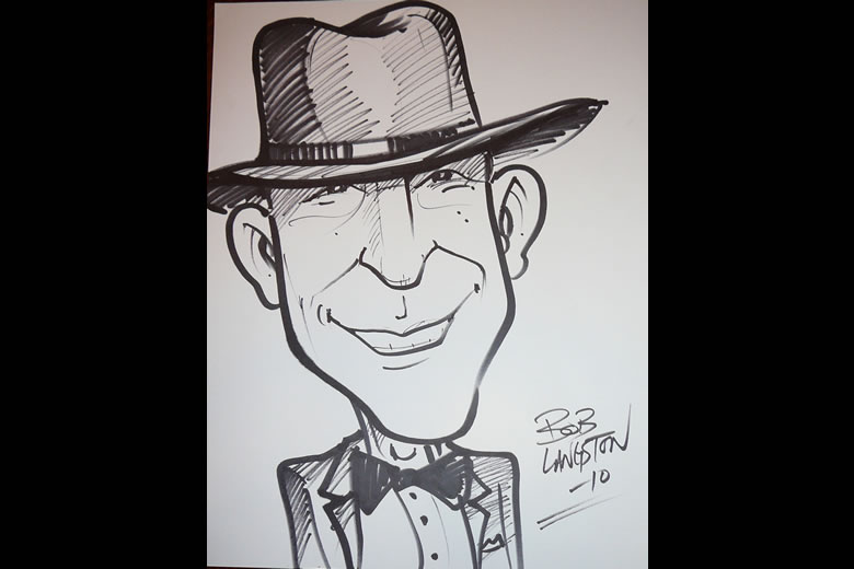 Caricature by Bob Langston (http://www.thebobzone.com)